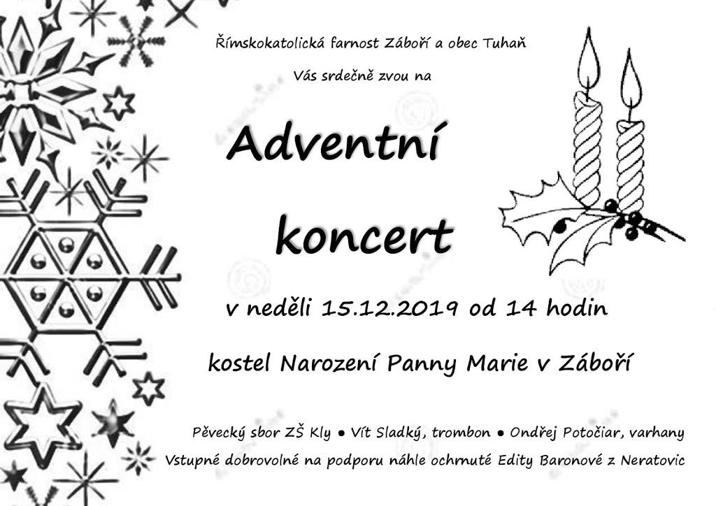 Adventní koncert v Záboří