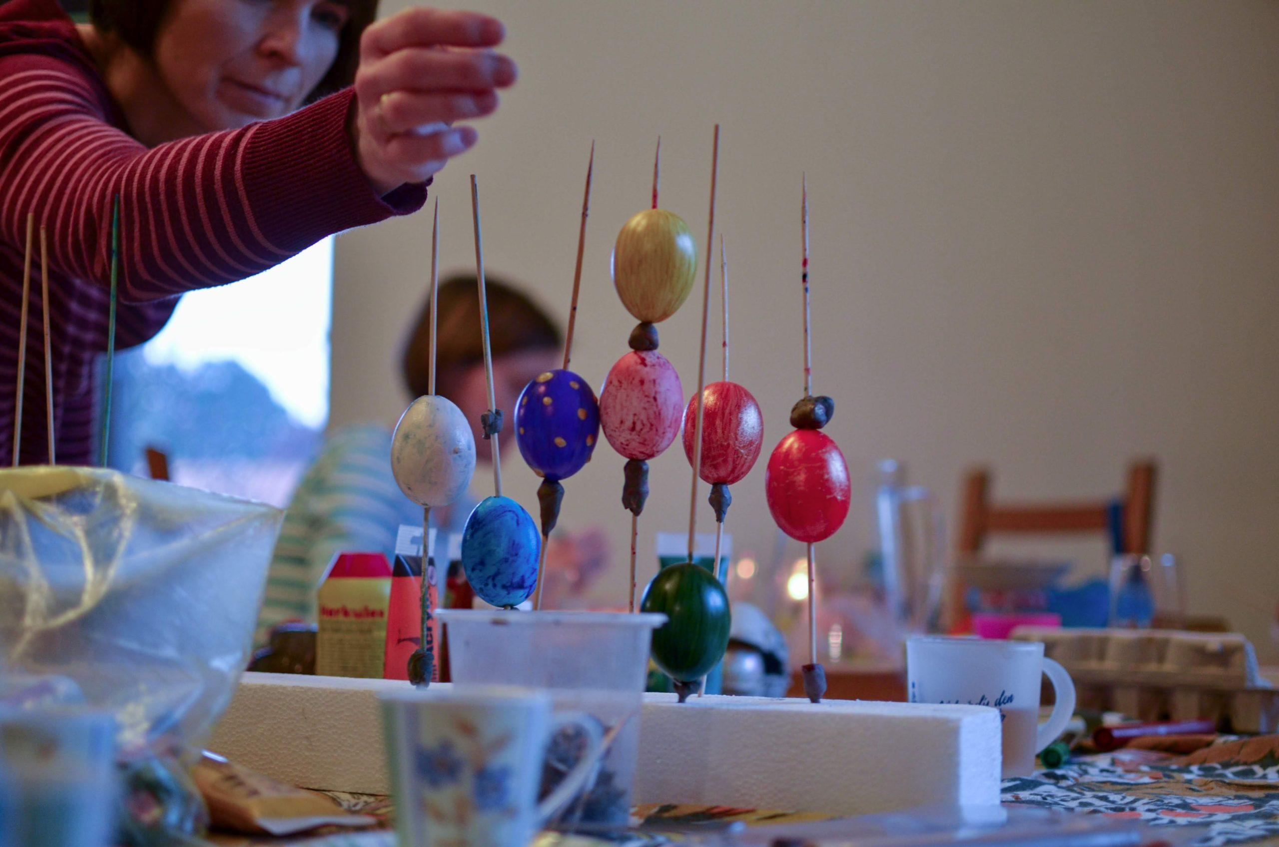 24.3.2019 Vyrábění 4 – velikonočních vajíček